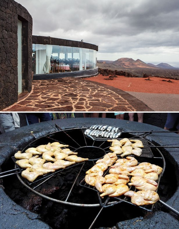 35 Of The World's Most Amazing Restaurants To Eat In Before You Die - Your Meal Is Grilled Over A Volcano, El Diablo, Lanzarote, Spain