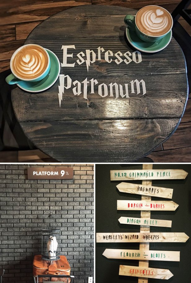 35 Of The World's Most Amazing Restaurants To Eat In Before You Die - Serious Coffee, With A Hint Of Magic In Harry Potter Themed Cafe In Toronto, Canada