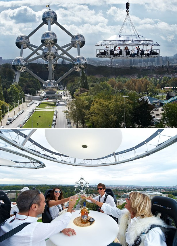 35 Of The World's Most Amazing Restaurants To Eat In Before You Die - Dinner In The Sky, All Around The World
